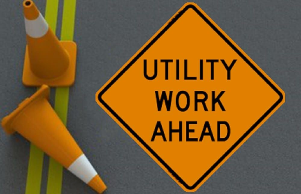 REMINDER: Emergency Utility Work April 3