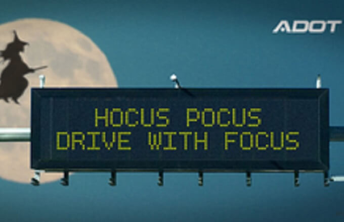 Hocus pocus: Get an early start home on Halloween and drive with focus