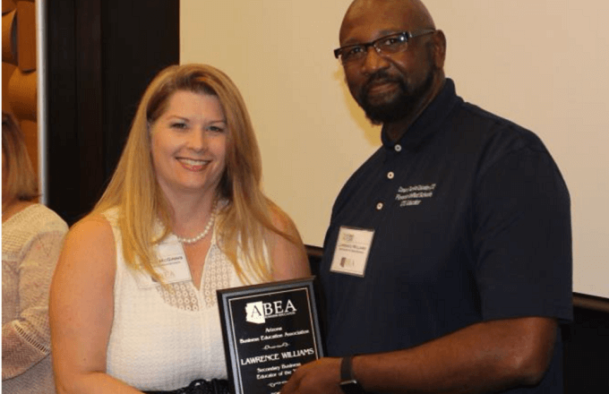 PBHS Teacher Named Business Educator of the Year